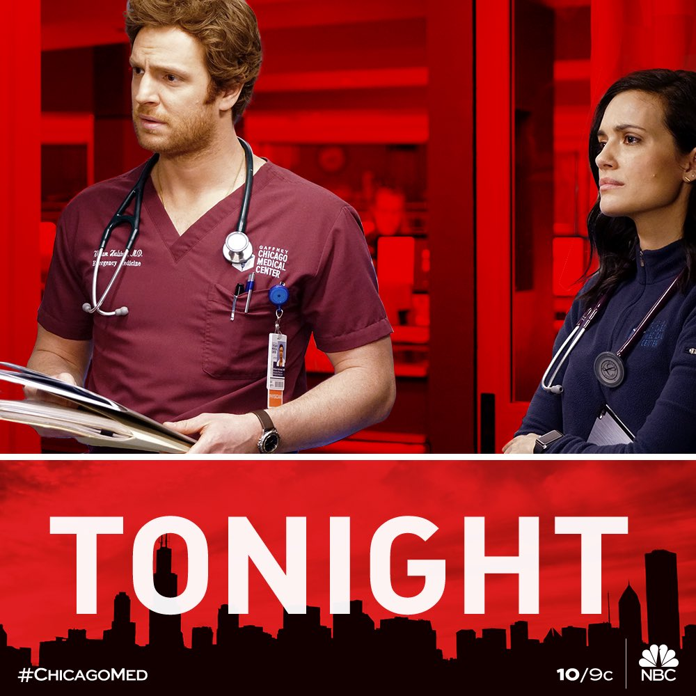 Who is also rooting for #manstead ? Watch a new episode of @NBCChicagoMed tonight at 10/9c. Join me and the cast for some #Livetweet . #chicagomed #nbc #nurses #tonight <br>http://pic.twitter.com/H782DmAOSD