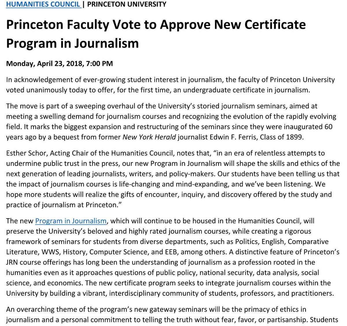 Beena Sarwar On Twitter Fabulous News Princeton Faculty Vote To