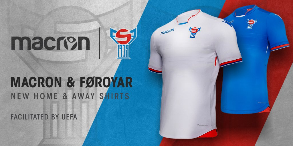 Macron On Twitter Macron And The Faroe Islands Football Association Unveiled The New Kits Of The National Teams As Part Of The Broader Agreement Between Macron And Uefa The So Called