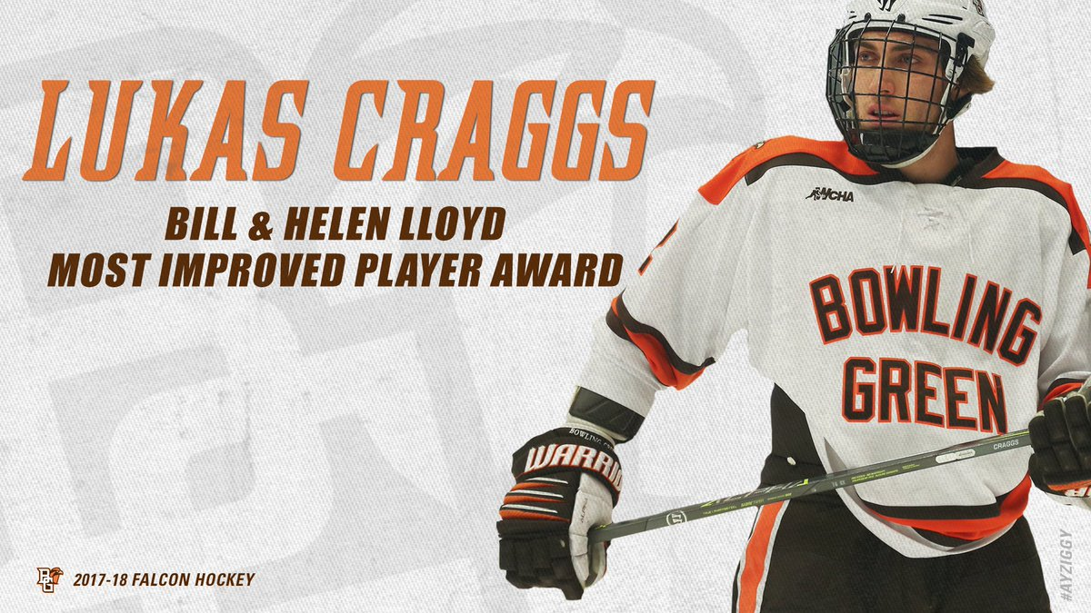 ... Great Lakes Invitational MVP in program history after a five-point tournament. @LukasCraggs has been named to the Bill & Helen Lloyd Most Improved ...