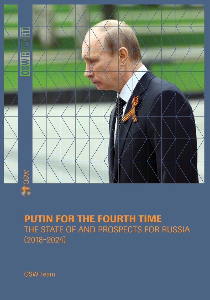 #Putin for the fourth time. The state of and prospects for #Russia (2018-2024)&quot; || excellent analysis by the @OSW_pl @OSW_eng research team  https://www. osw.waw.pl/en/publikacje/ osw-report/2018-03-20/putin-fourth-time-state-and-prospects-russia-2018-2024 &nbsp; …  Definitely worth a read!<br>http://pic.twitter.com/dbNTAEhmSJ