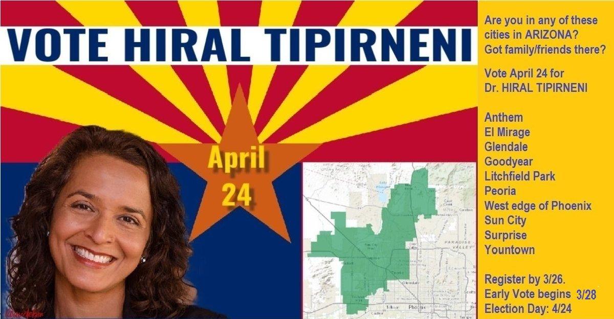@realDonaldTrump @DebbieLesko #VoteDemocrat @hiral4congress #ArizonaVoteHiral
