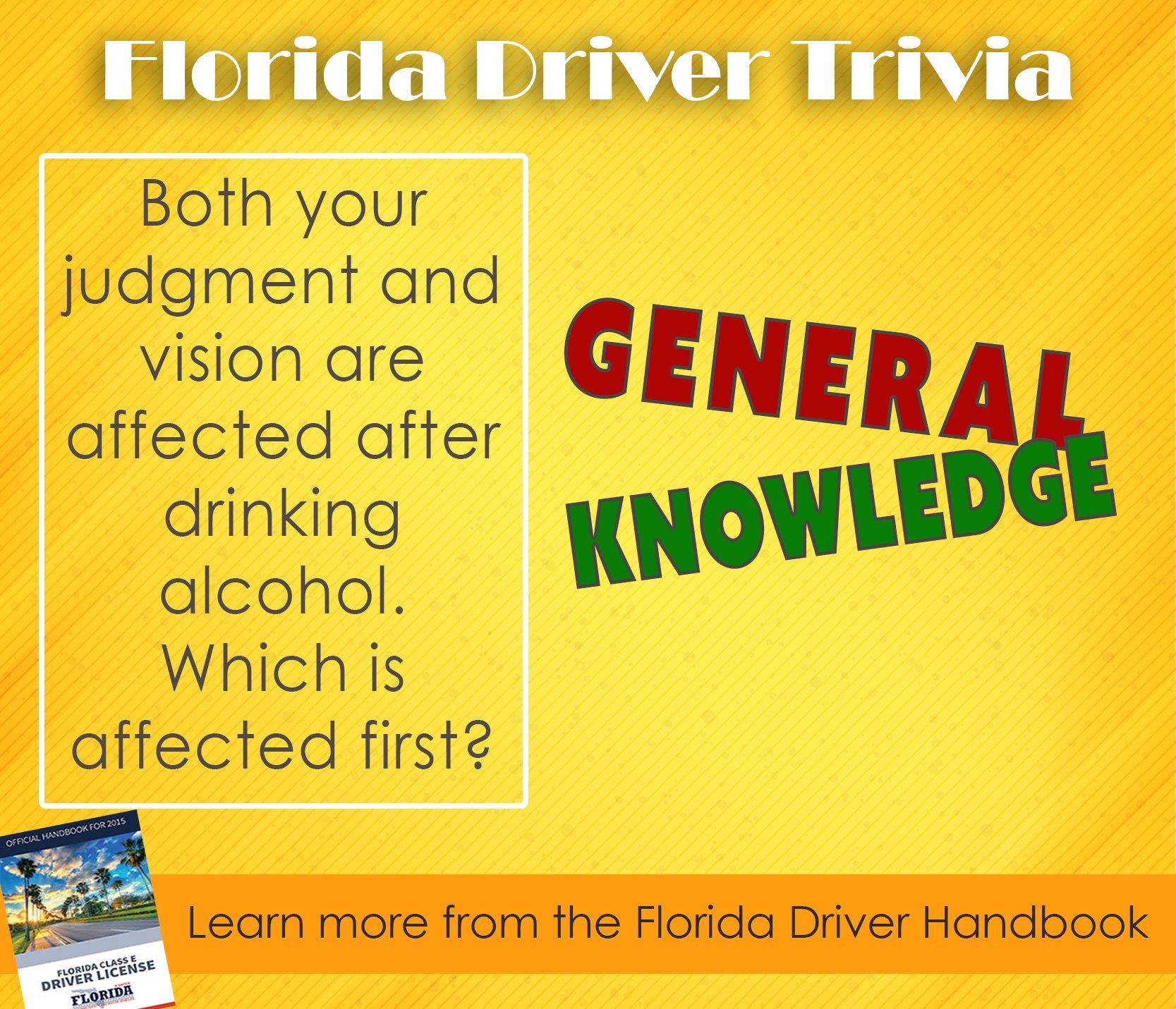 florida class e driver license handbook 2015