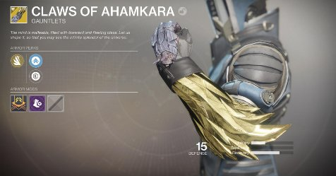 Look at the new #Destiny2 Warmind exotic armor and weapons https://t.co/Tq3lpP1gAx