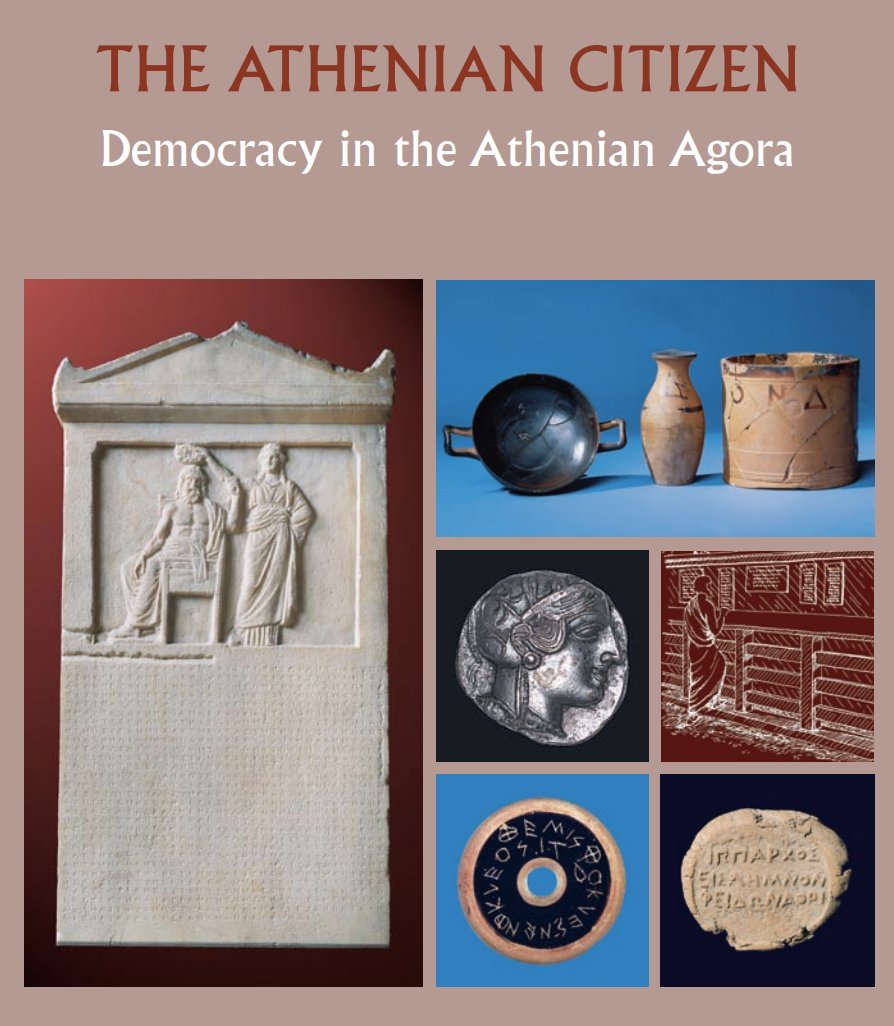What was it like to be a citizen in the city of #Ancient #Athens? Read about it here in the #ASCSA #Agora Picture Book &#39;The Athenian Citizen: Democracy in the Athenian Agora&#39; :  http:// ow.ly/kfdp30jE9xs  &nbsp;  .  @MuseumWeek #cityMW #MuseumWeek<br>http://pic.twitter.com/fmiYGTGgMC
