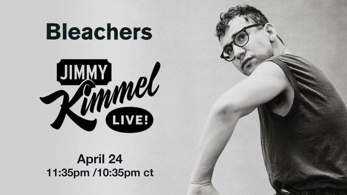 tune into @JimmyKimmelLive tonight 🔴 https://t.co/EIi4IXABYm