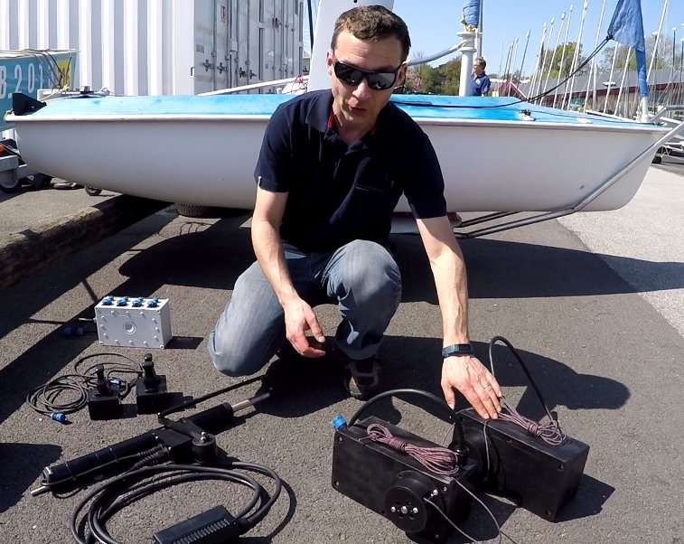 Watch out the new joystick control system for #Hansa 303 @HansaClassUK @worldsailing #sailing #easy Video:   https:// buff.ly/2HLAlsE  &nbsp;  <br>http://pic.twitter.com/N5pzLh9AFU