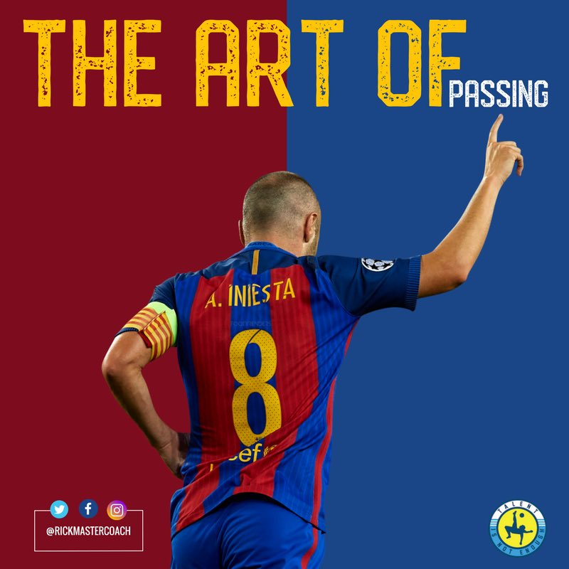 the art of passing in football