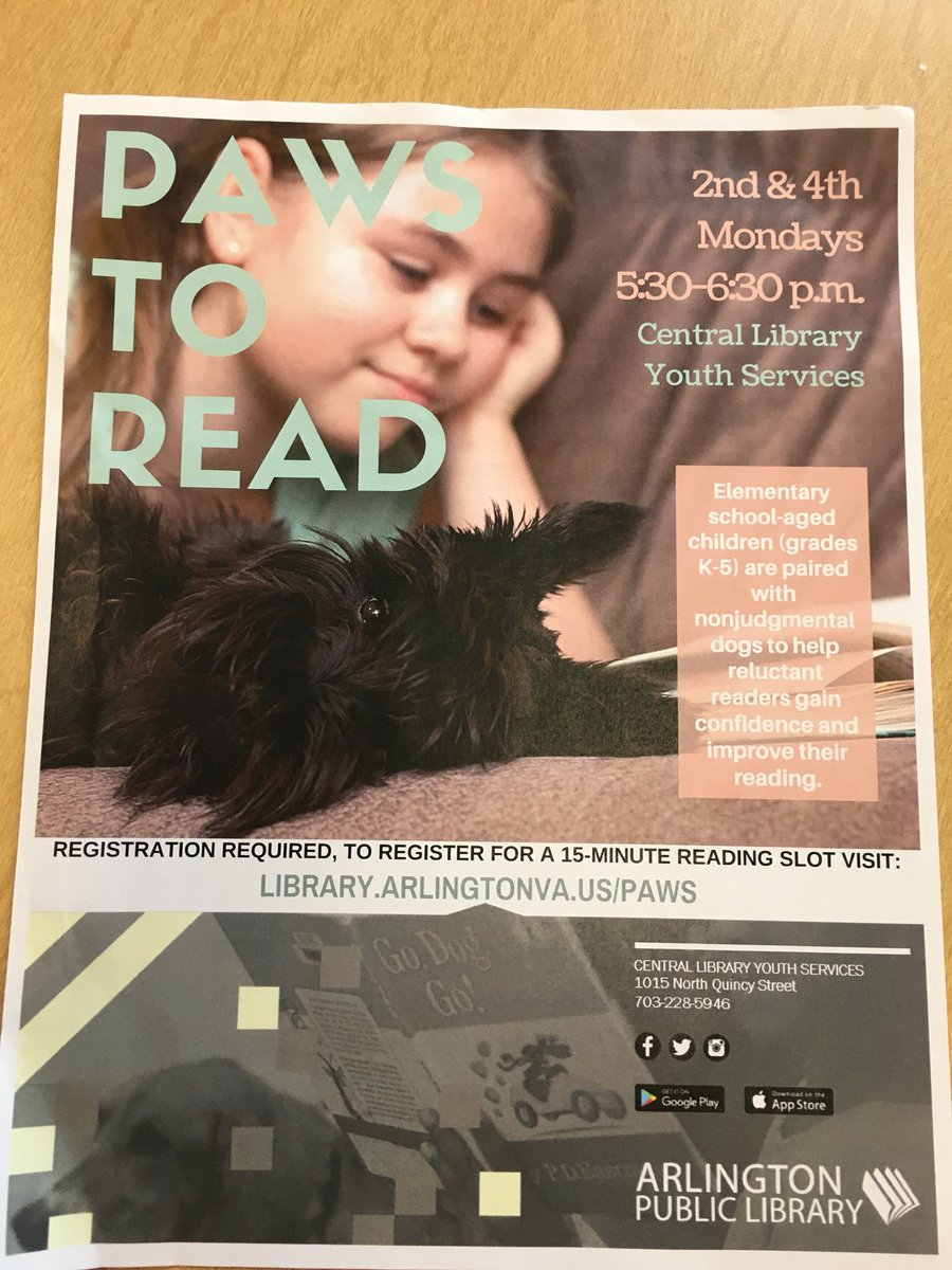 RT <a target='_blank' href='http://twitter.com/karmstrongKWB'>@karmstrongKWB</a>: An awesome opportunity at the public library each month! 🐶 and 📖 what could be better?! <a target='_blank' href='http://search.twitter.com/search?q=KWBpride'><a target='_blank' href='https://twitter.com/hashtag/KWBpride?src=hash'>#KWBpride</a></a> <a target='_blank' href='https://t.co/tof2MajpPC'>https://t.co/tof2MajpPC</a>