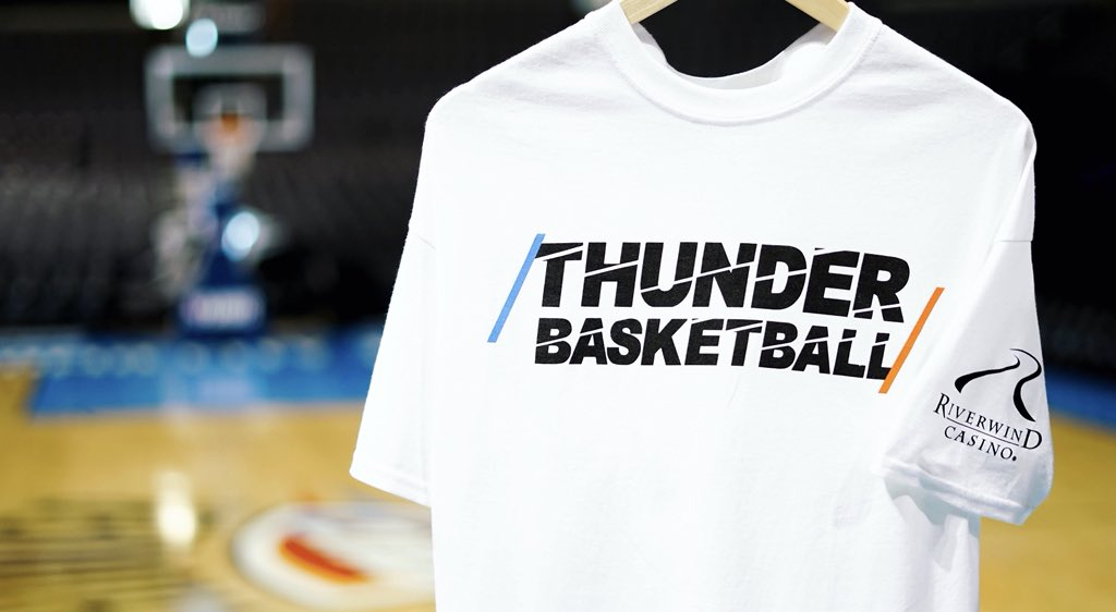 3c55d5b8 Tomorrow we #ThunderUp together! Thank you to @RiverwindCasino for the Game  5 Playoff