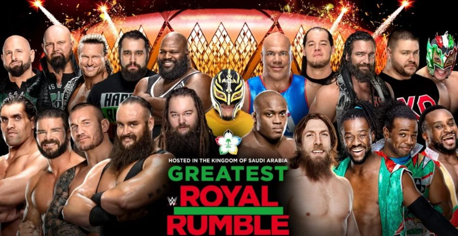 wwe greatest royal rumble 2018 - Dbkjax3VwAAlOyK - WWE Greatest Royal Rumble 2018 Match Card, Poster, Date – Location
