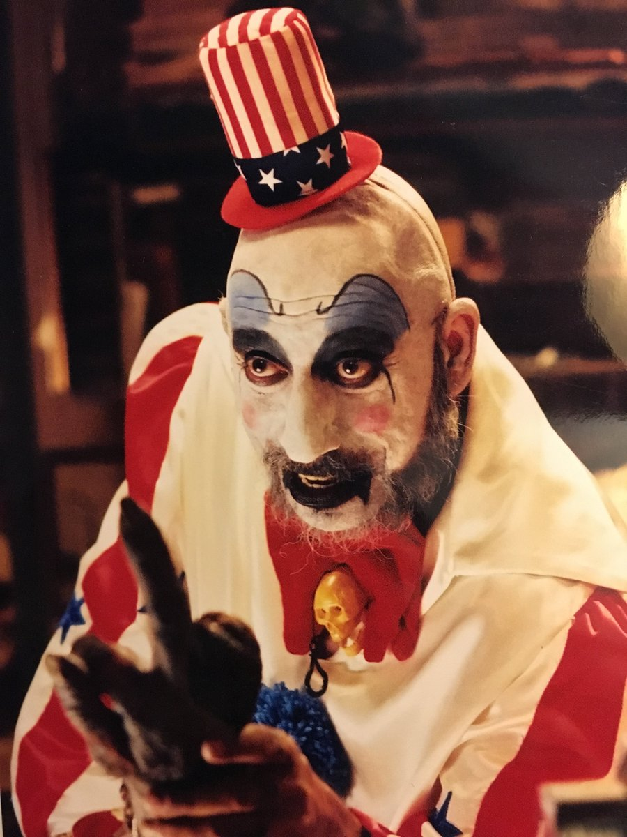 Acting with Sid Haig is such a blast! https://t.co/H89t6VD4eg
