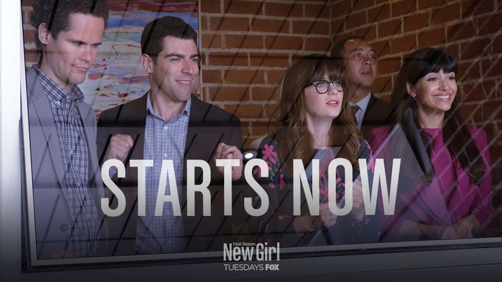 East Coast, it's time to go to the loft. #NewGirl starts now!