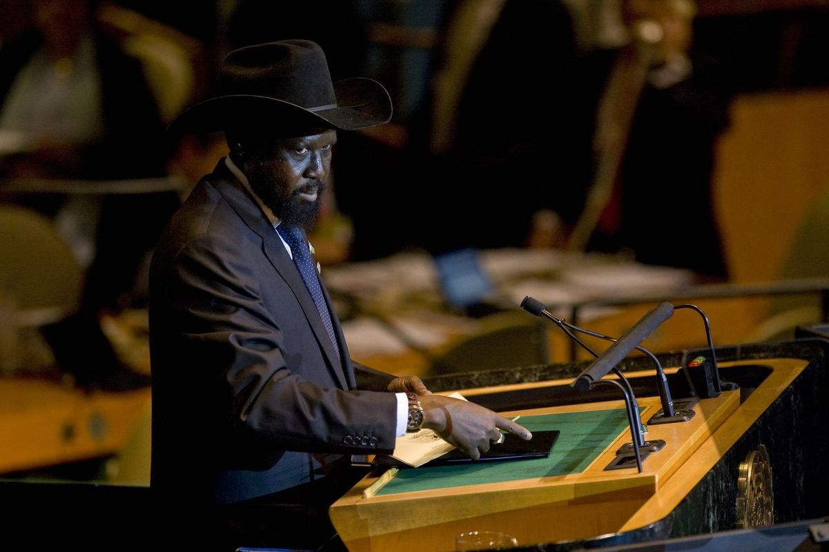 South Sudan leader rejects calls to resign as part of peace deal https://t.co/h7EIPjrf1d