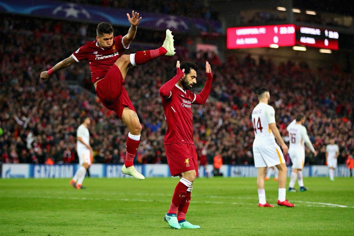 Liverpool vs AS Roma: (bán kết lượt đi Champions League)
