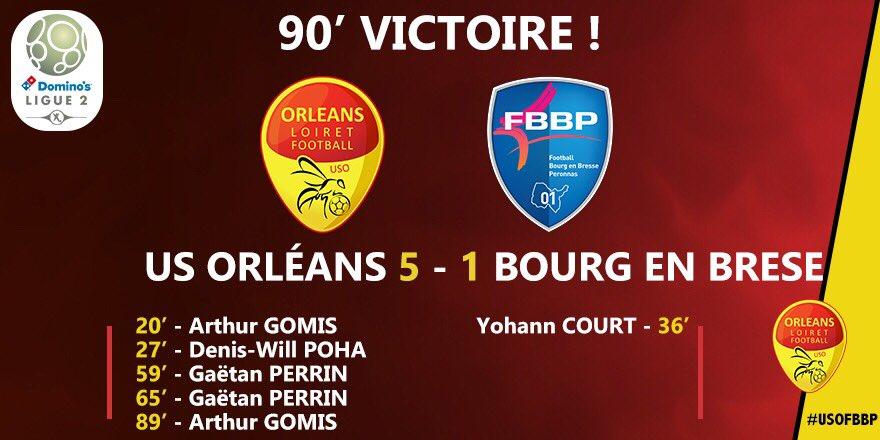 35ème journée US Orléans - F Bourg-en-Bresse Péronnas 01   Dbkp9CPXcAIFBuF
