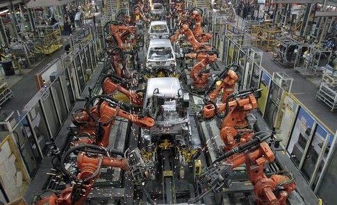South Korea has the most robots per work...
