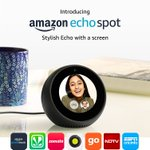 Amazon's display based Echo #EchoSpot launched in India for ₹10,499 BuyLink: https://t.co/lSqyHBBQRr