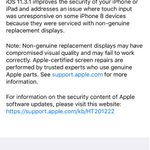 #iOS 11.3.1 now available for update #50MB
