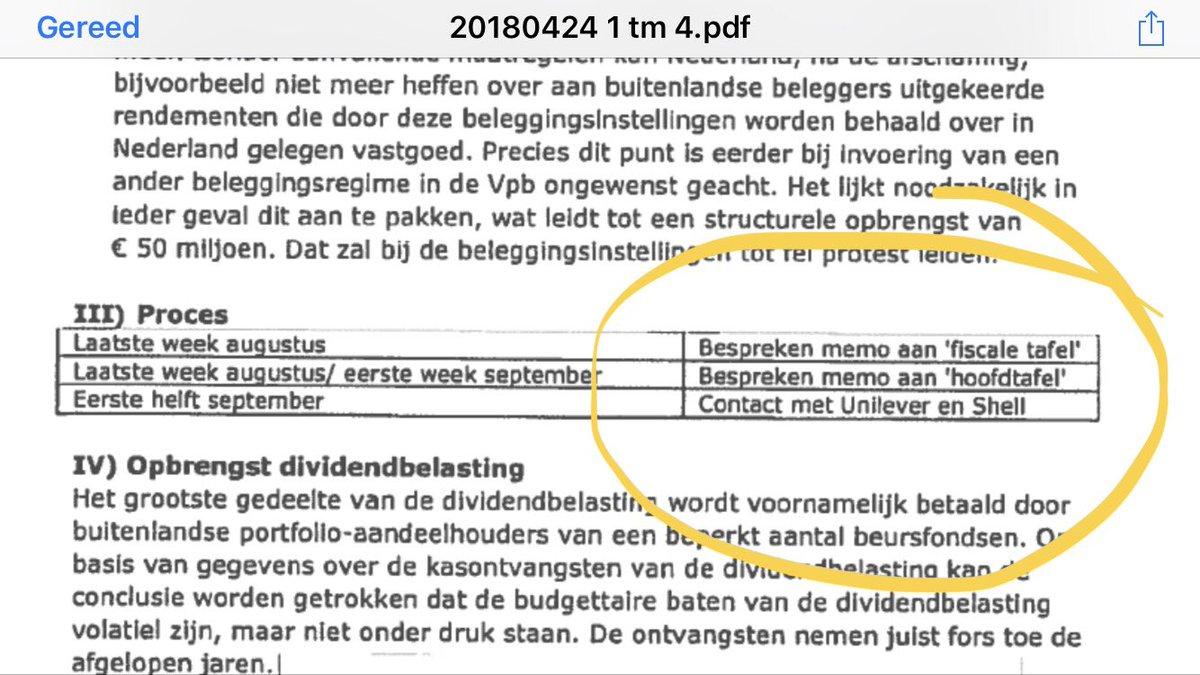 Lodewijk Asscher в Twitter Ehm Memodebat Dividendbelasting