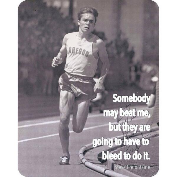 &quot;To give anything less than your best, is to sacrifice the gift.&quot; -Steve Prefontaine #Oregon #NIKE #run #courage #BelieveInYourDreams #BelieveInYou <br>http://pic.twitter.com/v1pXKlrNCF