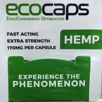 Have your tried our Eco Caps? Fast Acting! Experience the Phenomenon! #hemp #hempextract #hempoilextract #ecosciences