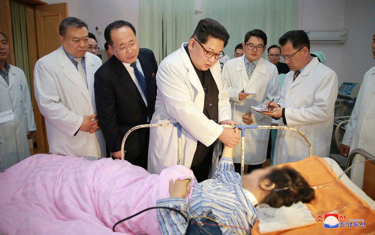Kim Jong-Un visita vítimas chinesas de acidente na Coreia do Norte https://t.co/Dtzn3nZZEH #G1