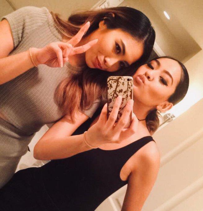 One of my strongest sisterhoods. Happy birthday Mariah Carey