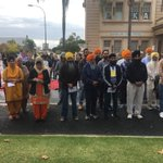 Image for the Tweet beginning: Renmark's Sikh community are part