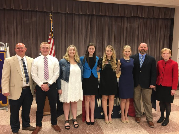 RT @ChancellorKoch: What a pleasure to be guest speaker tonight for the Optimist Youth Scholarship Banquet in Taylorville, Illinois tonight…