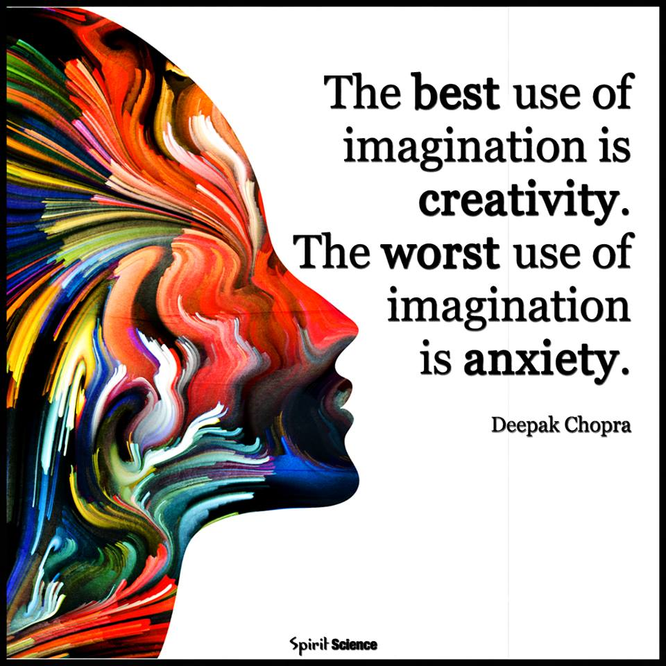 The best use of imagination is creativity and the worst is #anxiety #mind #mentalhealth<br>http://pic.twitter.com/hRbXt8aklN