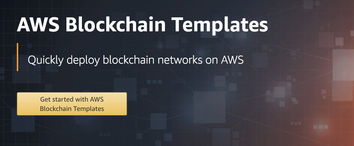 Werner Vogels On Twitter Introducing Aws Blockchain Templates For