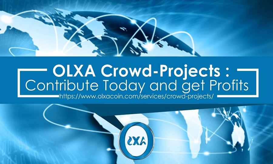 OLXA provides the #BlockchainCommunity with life projects that everyone can participate in using #Cryptocurrency Learn more about OLXA CryptoAsset Projects at  https://www. olxacoin.com/services/crowd -projects/ &nbsp; …  #OLXA #Projects #Crowd #ICO #TokenSale #TokenProjects #Crypto #CryptoProjects #CryptoAsset<br>http://pic.twitter.com/wRrPY4HrkM