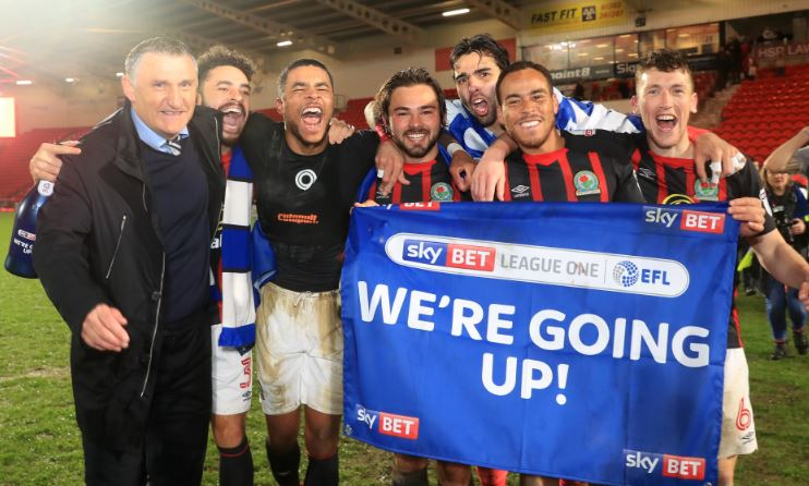 ⬆️ BLACKBURN PROMOTED ⬆️  Rovers have sealed their return to the Sky Bet Championship at the first time of asking.  Report here https://t.co/ZdGDZOnYY8