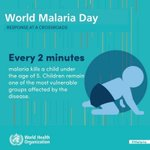 #WorldMalariaDay