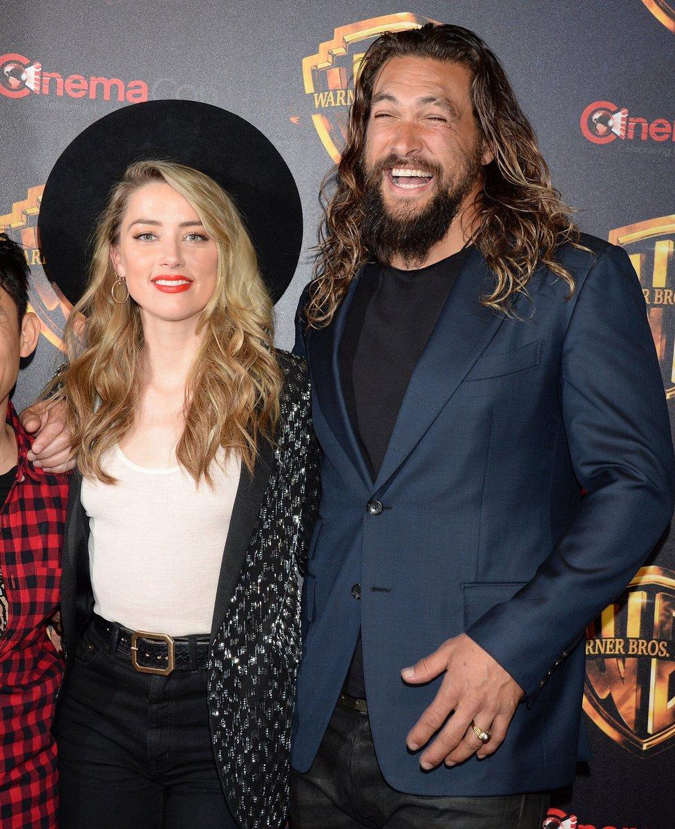 New Jason Momoa And Amber Heard Aquaman Image: DC Universe (@DCEUMX)