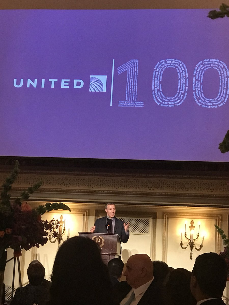 2017 - United 100, some of the Best of the Best!!!! Always great to be with such an amazing group and to hear their amazing stories!! What an honor to be with you all tonight!! Gotta love it!! @weareunited #BeingUnited #UnitedProud