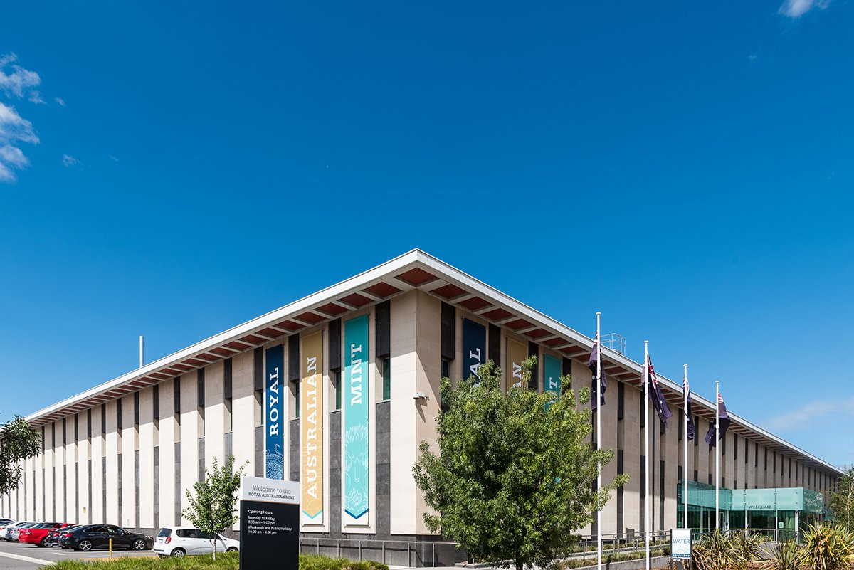 The Mint building gained Commonwealth Heritage Listing in 2016. Having intrinsic design features linking it with National Institutions in Canberra, including the @nlagovau, @MoAD_Canberra and our original admin building which now houses @IanPotterFdn  #hertiageMW #MuseumWeek