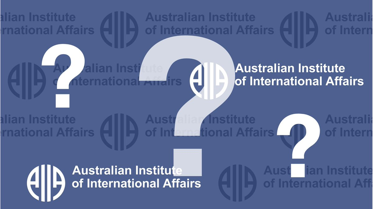 Applications for the @AIIANationals New Deputy Director are now open. Interested parties can follow the link for more information about the role and how to apply. Application close Monday 7th May buff.ly/2Jl0mw5