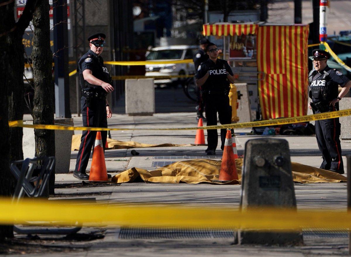 Motorista de van de ataque em Toronto é acusado de dez homicídios. https://t.co/SJTf4FClyE 📷 Carlo Allegri/Reuters/©