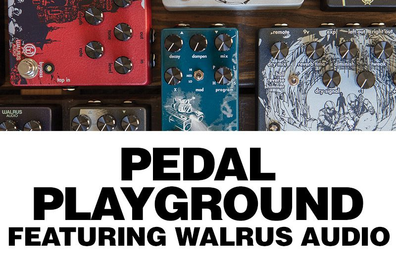 #Oklahoma! Our friends @WalrusAudio are stopping by the Norman store this Saturday, 4/28 for an interactive #PedalPlayground! Swing by to test out new pedals, ask questions + more 🎛️🎛️ RSVP: https://t.co/SbjRm0IYwB