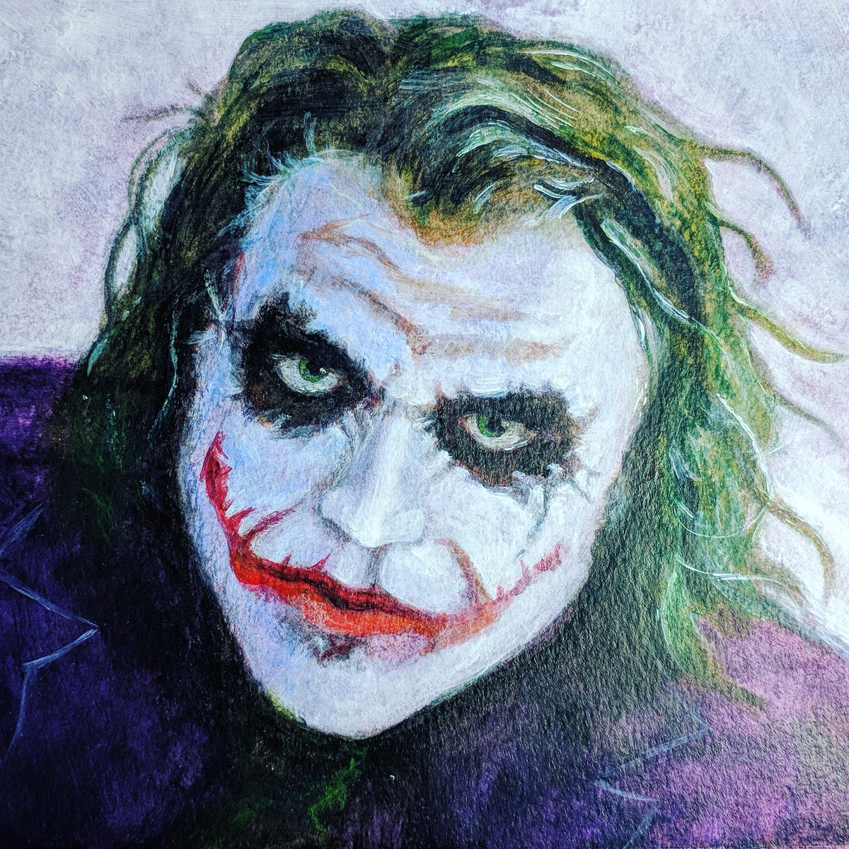 20 New For Joker Face Drawing With Colour