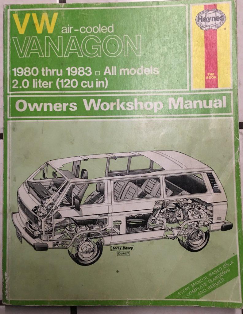 Westfalia Or Bust Westfaliaorbust Twitter 1983 Volkswagen Vanagon Repair Manual 0 Replies Retweets Likes