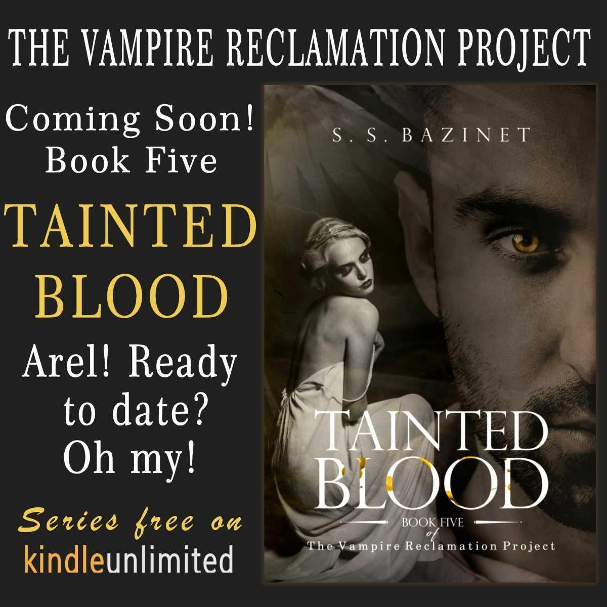 RT #TaintedBlood by @SSBazinet Arel thinks he&#39;s ready to date...oh my! 5th book in #series  https://www. amazon.com/gp/product/B01 KVJWM6O &nbsp; …  #IAN1 #IARTG #ASMSG #Selfworth #BookBoost #gr8books4u #mustread<br>http://pic.twitter.com/OWw03hjlsk