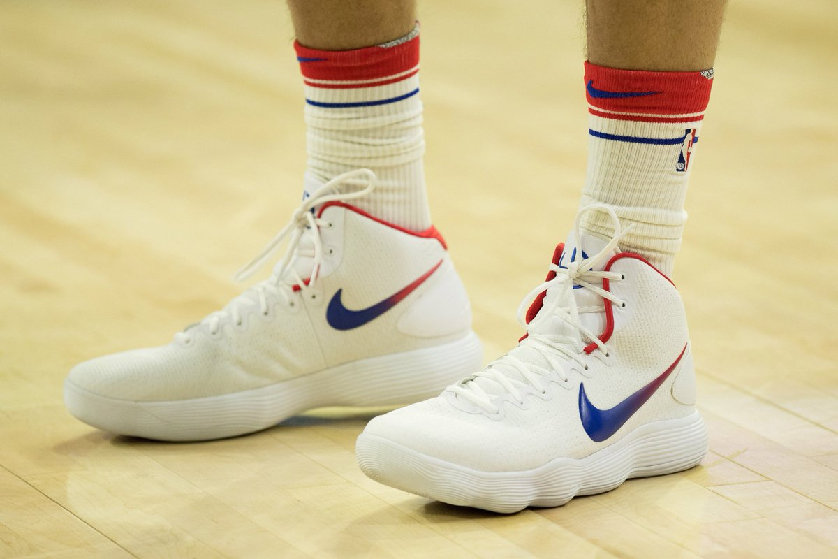 da6fa8aaabdb solewatch bensimmons25 looks to knock off the heat in his nike react  hyperdunk pe