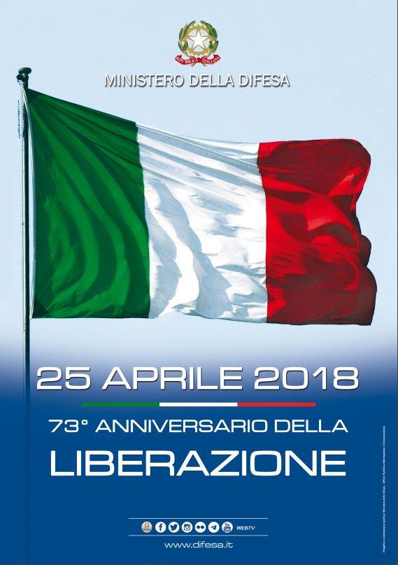 #25Aprile Oggi in tutta Italia le celebrazioni del 73° anniversario della #Liberazione