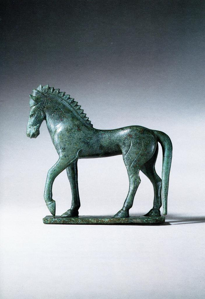 #History: #Etruscan #bronze figure of a Horse. Late 6th cent. BC https://t.co/sdlgPmxhXI via #RomeGreeceArt