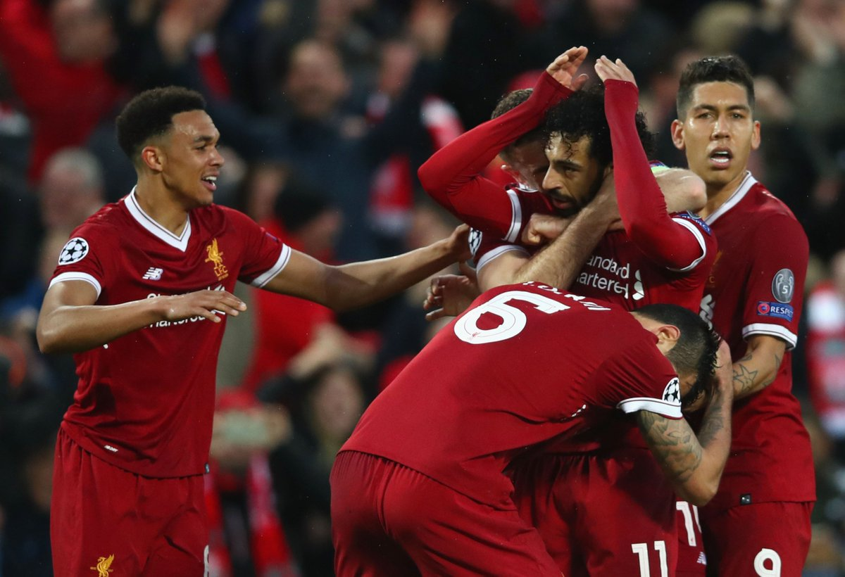 'CAN ANYONE STOP THEM?'  Liverpool might have had a late wobble against Roma but they are only the second team in history to score five in a Champions League semi-final.  @ghostgoal looks at whether anyone can halt their Champions League charge: https://t.co/CZ6JkpsObI