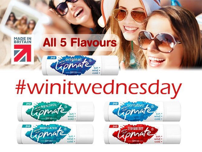Ready for #WinItWednesday?  We&#39;re giving 2 lucky people the chance to win our amazing 5 Flavour Lip Balm pack   Just Follow + RT to be in with a chance to win  Ends 23:59 on 30.04.18 Prize delivered to UK address #lipcare #lipbalm #lips #Competition #Health #Beauty #win<br>http://pic.twitter.com/SQT9i4s9YH