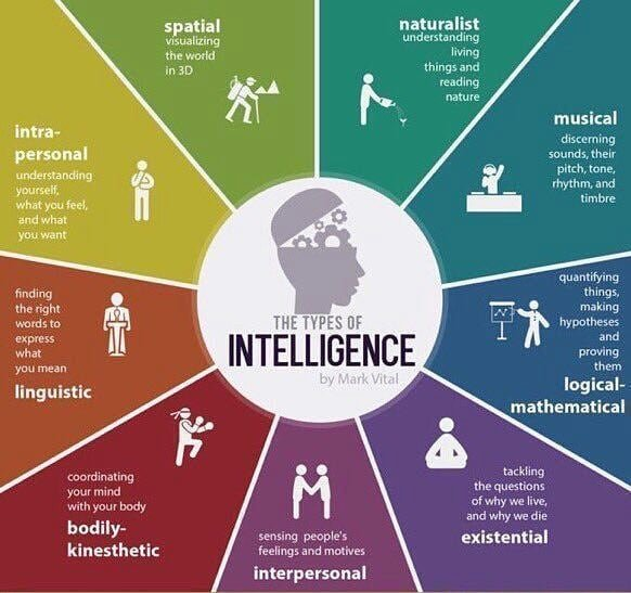 9 Types of Intelligence..!  {#infographic} #seo #webtrends #marketers #minds #strategy #webstrategy #trends #human #intelligence #people #smo #sem #startup #idea #socialmedia<br>http://pic.twitter.com/K51DMBuJIq